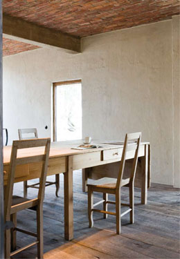 #03 - Restored farmhouse by Architect Bernard de Clerck, image via Corvelyn as seen on linenandlavender.net, http://www.linenandlavender.net/2013/02/bernard-de-clerck-architect-be.html
