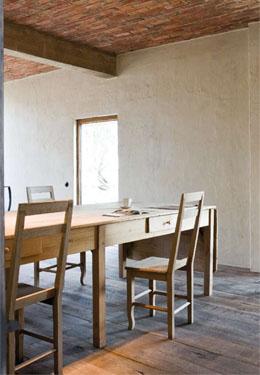 #03 - Restored farmhouse by Architect Bernard de Clerck, image via Corvelyn as seen on linenandlavender.net, http://www.linenandlavender.net/2013/02/bernard-de-clerck-architect-be.html
