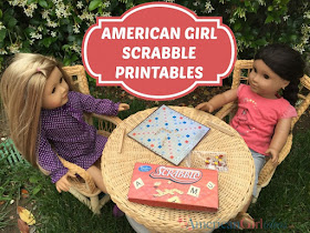 printables for American Girl Dolls
