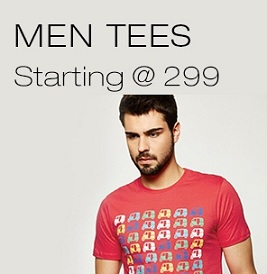 Men's Yepme T-Shirts / Polo starts from Rs.299 Only