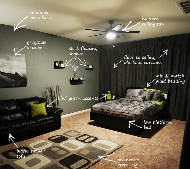 100 Bachelor Pad Living Room Ideas For Men: Tips For Choosing Amazing Bed For Your Bachelor Pad