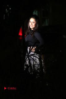 Actress Sonia Agarwal Stills in Black Top at Yevanavan Tamil Movie Audio Launch Event  0023.jpg