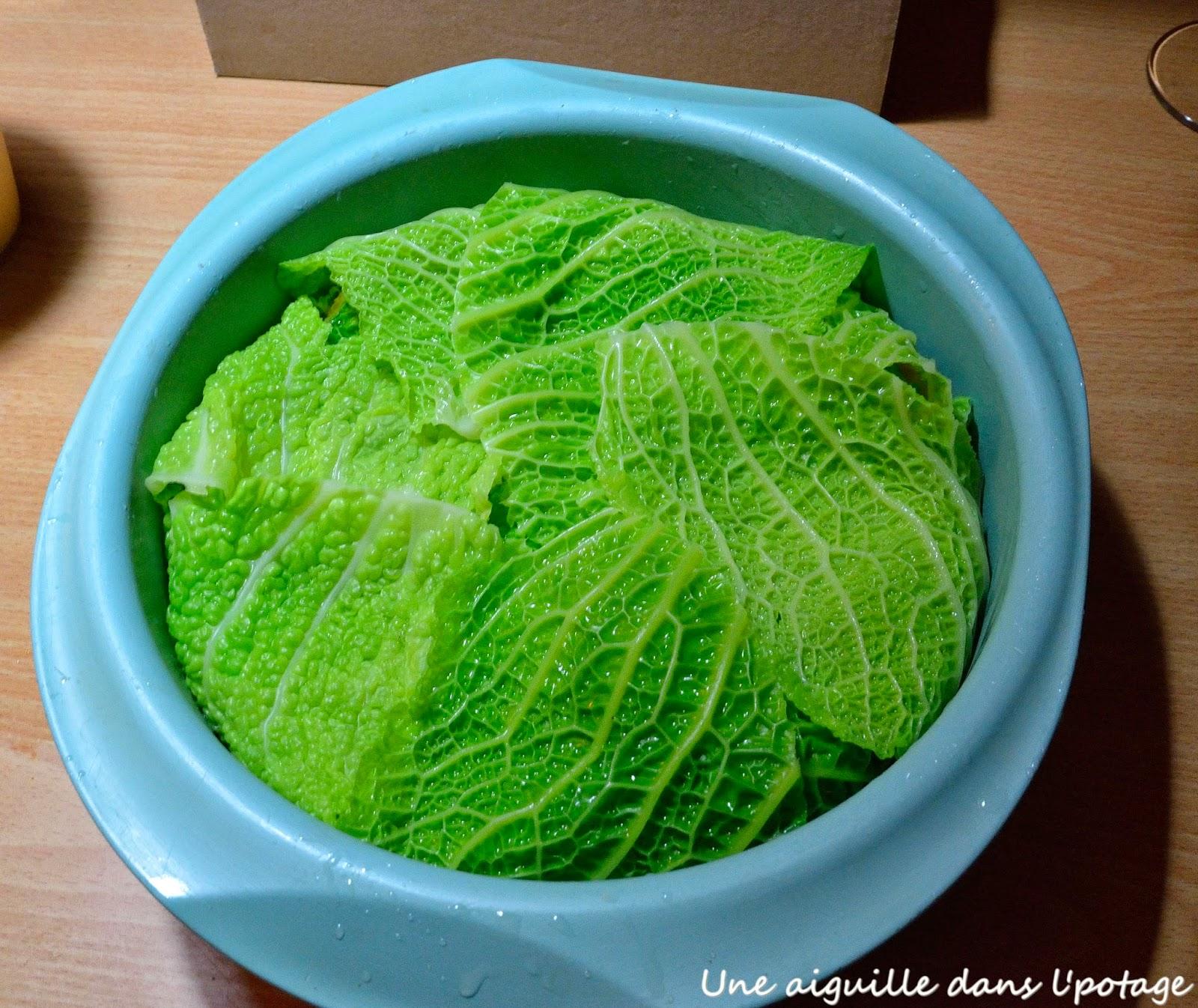 recette chou vert facile