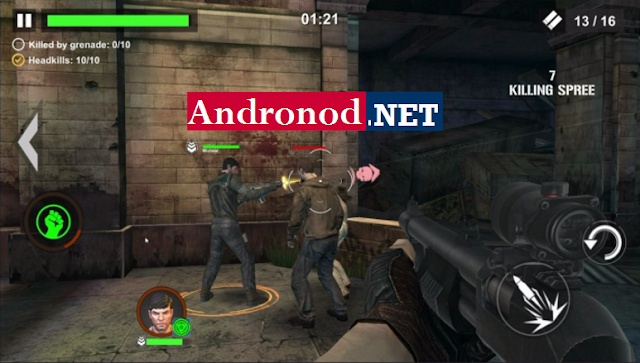 Dead Warfare Zombie v1.2.77 Mod Apk Data (Unlimited Ammo+Health)