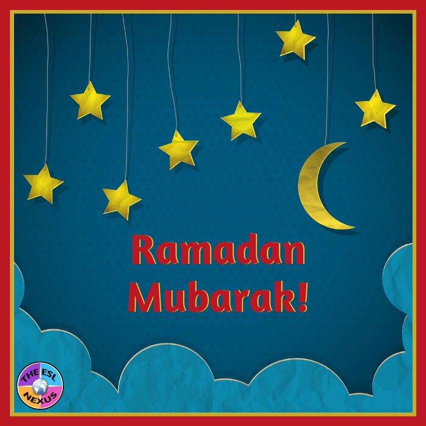Find resources for teaching about Ramadan & Cinco de Mayo in this blog post   The ESL Nexus
