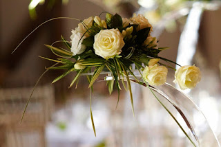 Flowers for wedding reception