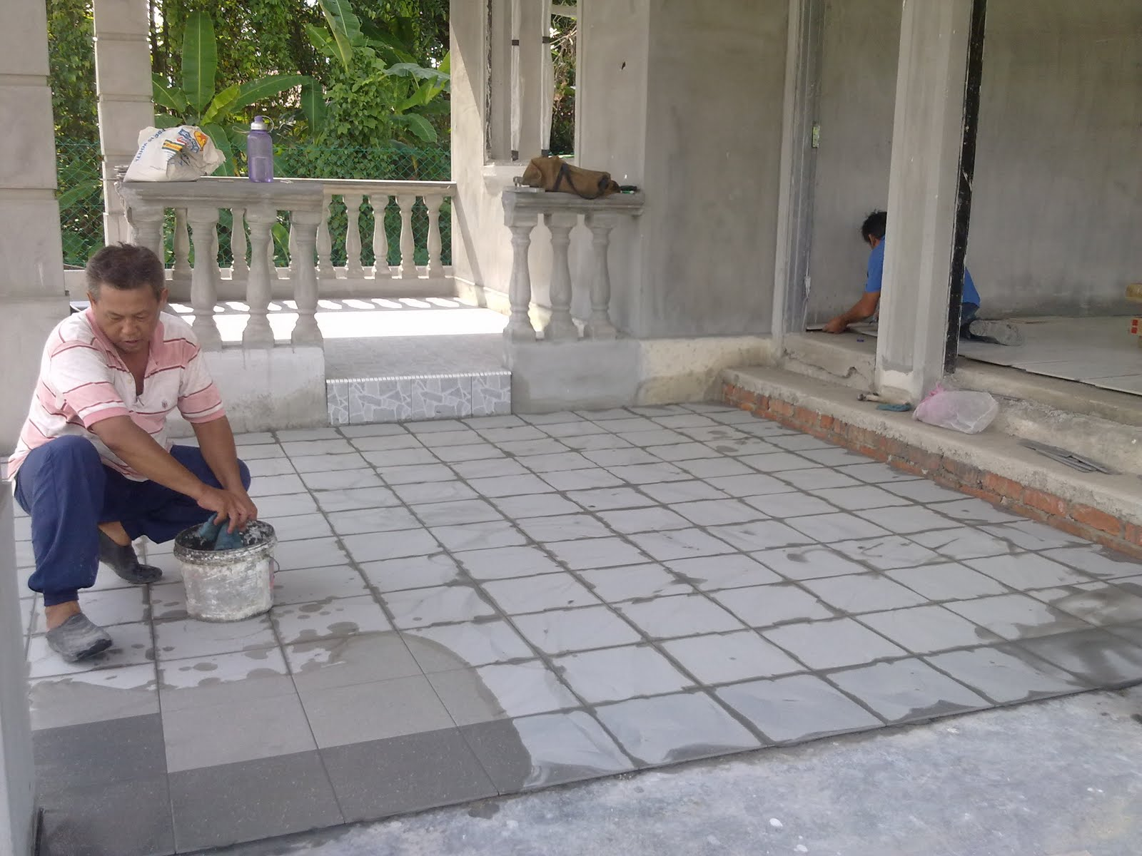 Mozek Lantai Luar Rumah Desainrumahid Com