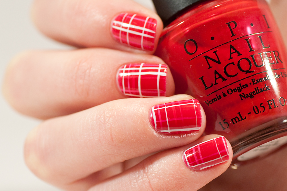 40 Great Nail Art Ideas Red May Contain Traces Of Polish