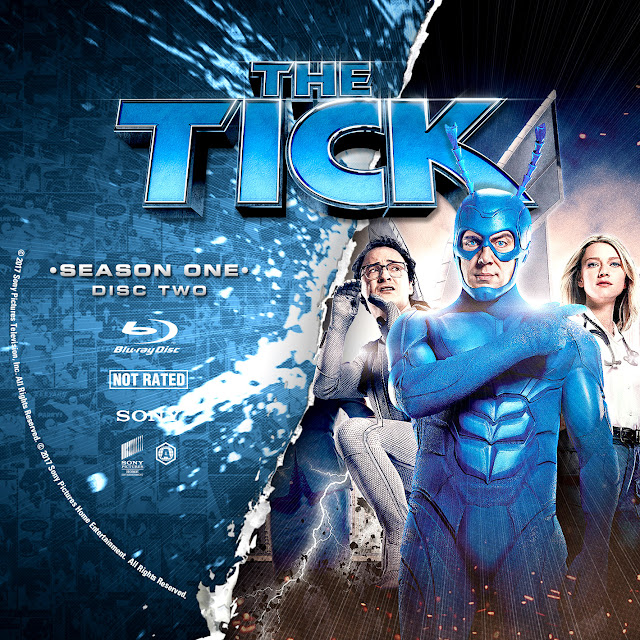 The Tick Season 1 Disc 2 Bluray Label