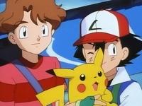 Ash, pikachu y Todd