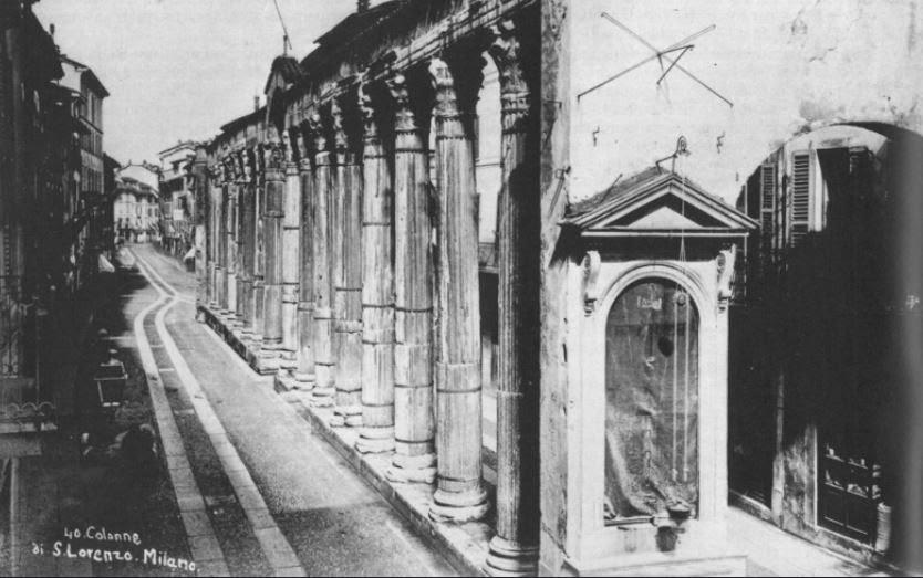 san lorenzo colonne milano calzolari