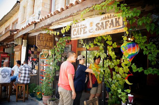 Café Safak na Capadócia