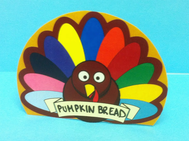 Thanksgiving turkey Printable Napkin Holder
