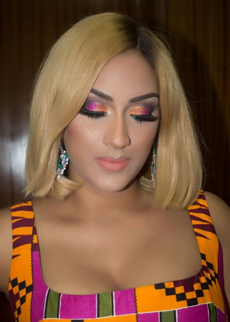Actress Juliet Ibrahim Launches her Shades Eyelashes And Moda Lipsticks Line in Ghana