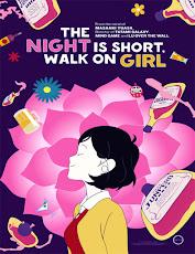 pelicula La noche es corta, camina sobre la chica (Nigth Is Short, Walk on Girl) (2016)
