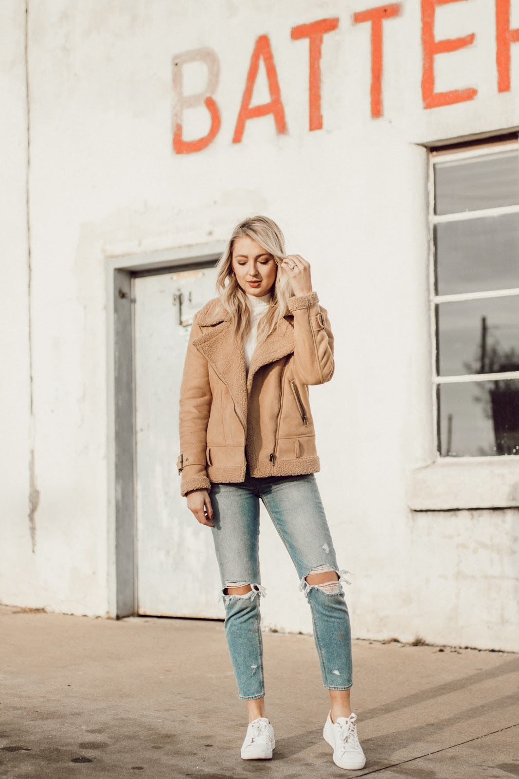 styling sneakers in the winter | Love, Lenore