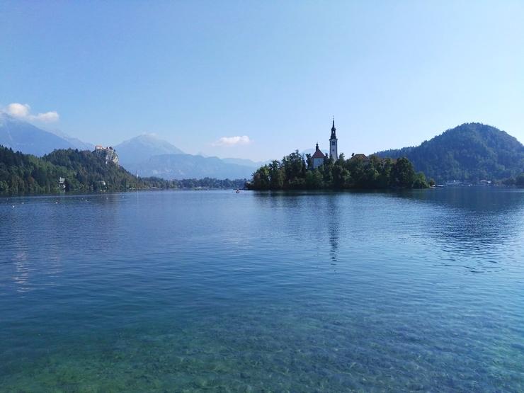 tour lac bled eau cristalline