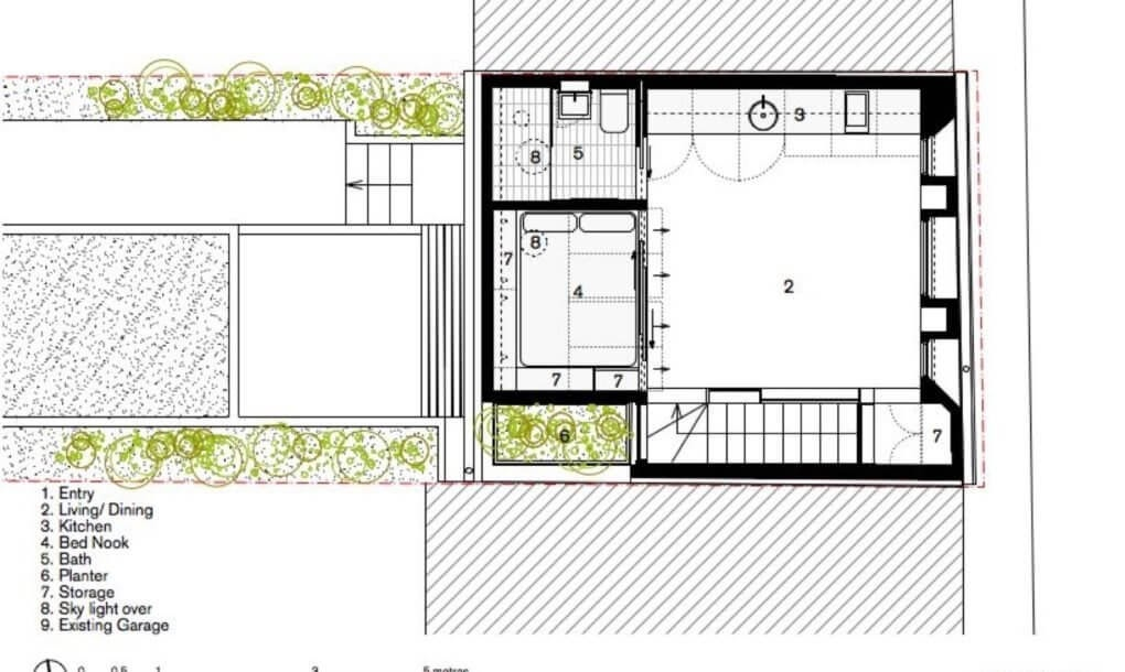 05-First-Floor-Layout-M-W-Architects-Sustainable-Architecture-with-the-Garage-Top-Studio-www-designstack-co