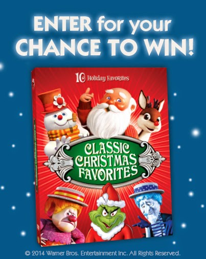 they are giving away a 50 led smart hdtv and classic christmas favorites dvd sets in their classic christmas favorites sweepstakes - Classic Christmas Favorites