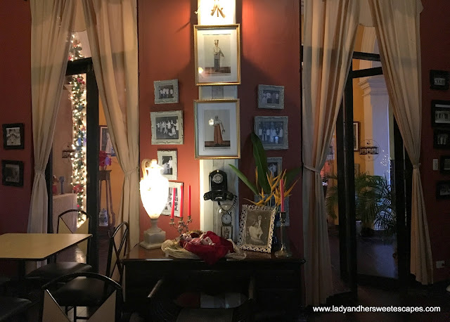 antique memorabilia at The Mansion Cafe Silay