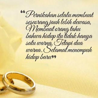 Kata Mutiara Pernikahan Yang Sakral Dan Indah