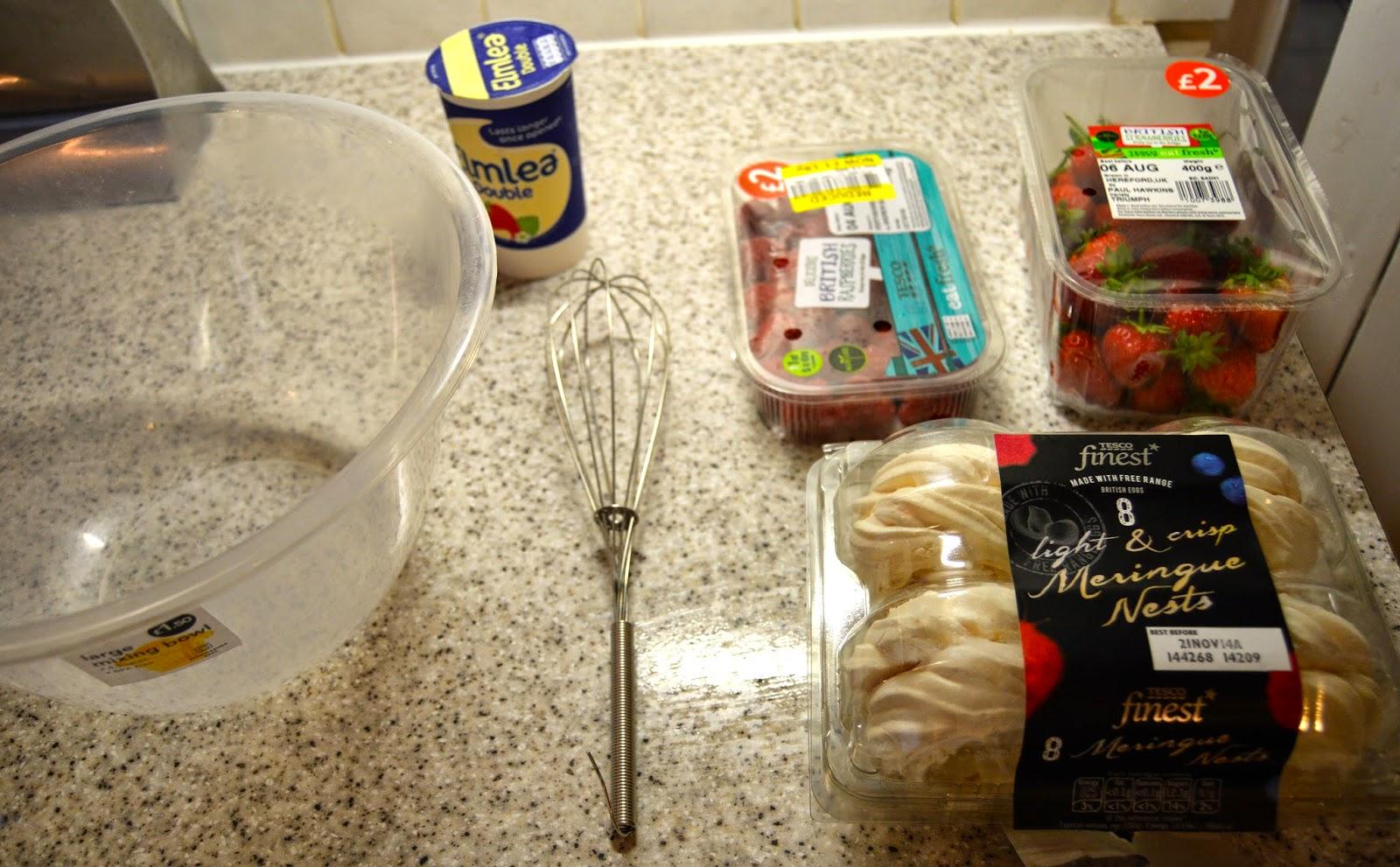 Summer Recipe: Eton Mess