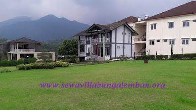 Sewa Villa Di Lembang Bandung Vila Istana Bunga