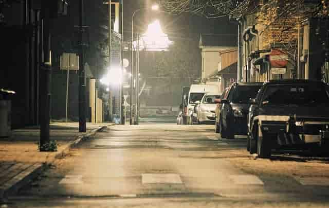 Arka sokaklar çok sessiz.