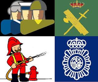 Resultado de imagen de fuerzas y cuerpos de seguridad del estado