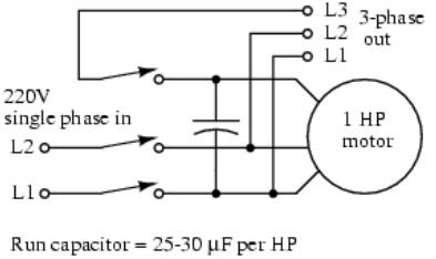 Converting Single Phase Power Into Three Phase,how to convert single phase to three phase circuit diagram, single phase to three phase converter for sale, single phase to three phase conversion using capacitors,how to convert 3 phase motor to single phase 220v, convert single phase to 3 phase calculation, 3 phase to single phase wiring diagram, how to run 3 phase motor on single phase using capacitor pdf, how to run single phase motor on three phase