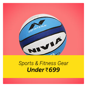 Sports and Fitness Items under Rs. 699 only.