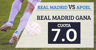 Paston Megacuota 7 Real Madrid gana a APOEL + 100 euros 13 septiembre