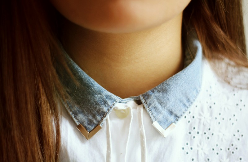 diy: collar tips - dariadaria.