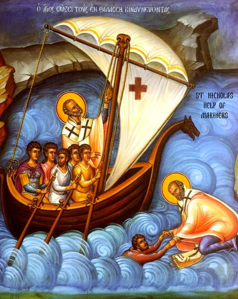 Saint Nicholas. Patron Saint Of Sailors