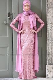 Model Gaun Kebaya Muslim Untuk Pesta Terbaru