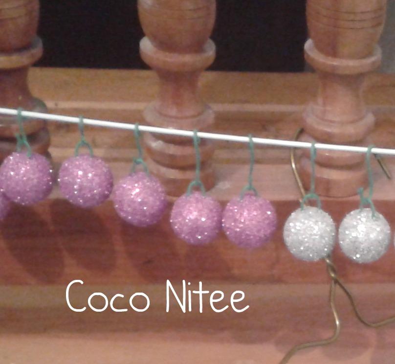 Coco Nitee Diy Esferas De Diamantina