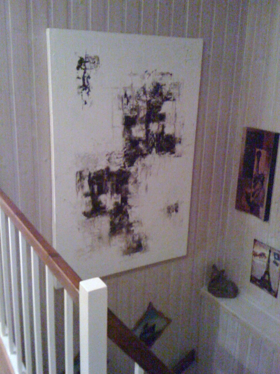Anette`s Malerier: Maleri i trappeoppgang