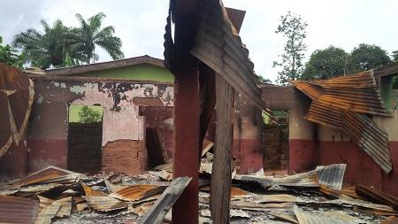 Pandemonium, As IPOB Terrorists Set Mosque Abalze In Enugu