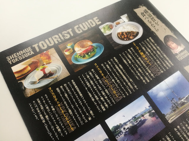 A sneak preview: Nozomi introduces Yokosuka Cherry Cheesecake, Yokosuka Navy Burger, Yokosuka Navy Curry.