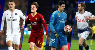 ترشح كورتوا حارس ريال مدريد لجائزة أفضل لاعب فى دورى الأبطال