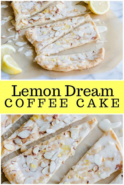 Lemon Dream Coffee Cake