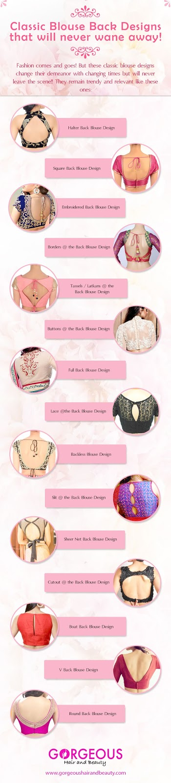 Must Try Classic Blouse Designs