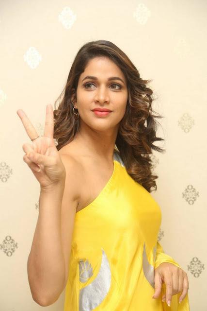 Lavanya Tripathi Stills At Intelligent Movie Press Meet