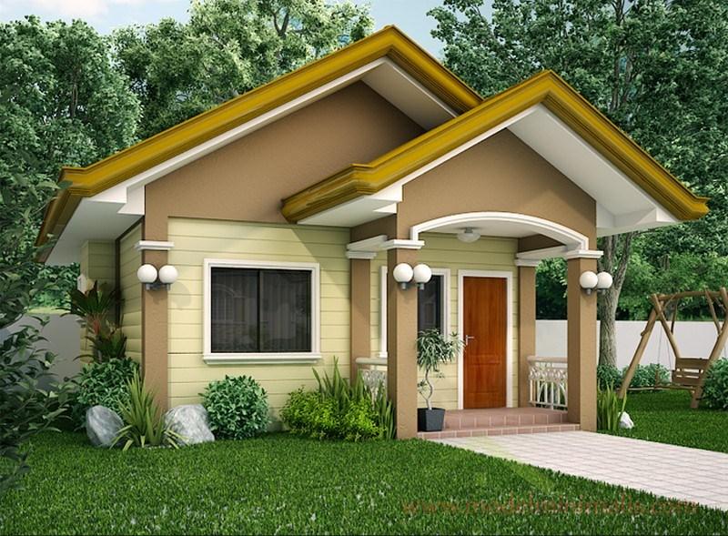 Desain Rumah Minimalis 1 Lantai Bergaya Klasik