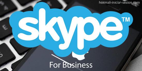 Skype for business en hotmail iniciar sesion