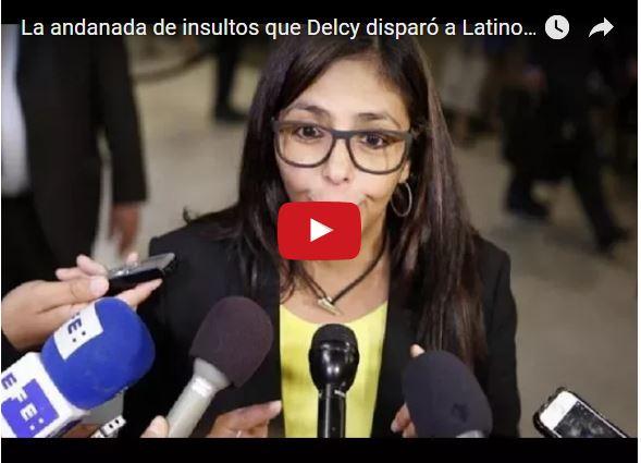 Delcy la Fea insultó a toda Latinoamérica antes de irse