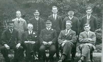 Gosport station staff pre war
