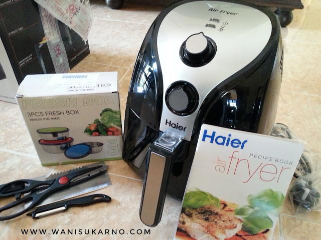 Pengalaman Membeli Air Fryer Haier Di Go Shop