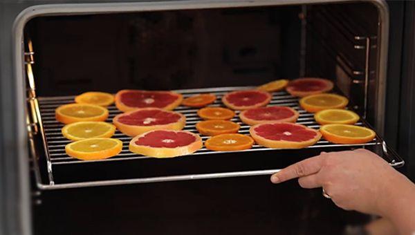 fırında turunçgil kurusu yapılışı - KahveKafeNet