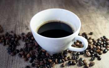 Wallpaper: Coffee Arabica and Coffee Beans